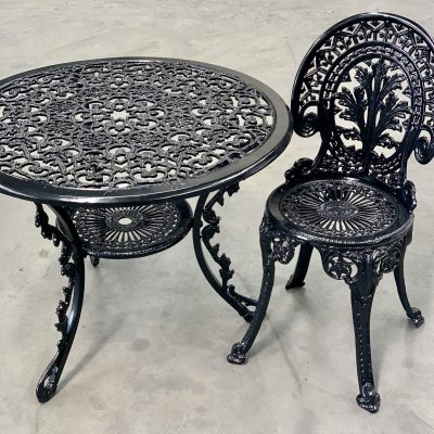 Powder Coated Table & Chair