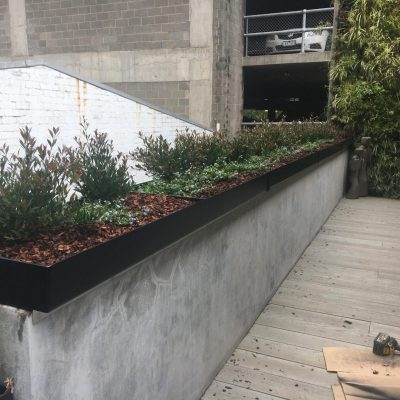 Black Knight RC Coated Planter Box